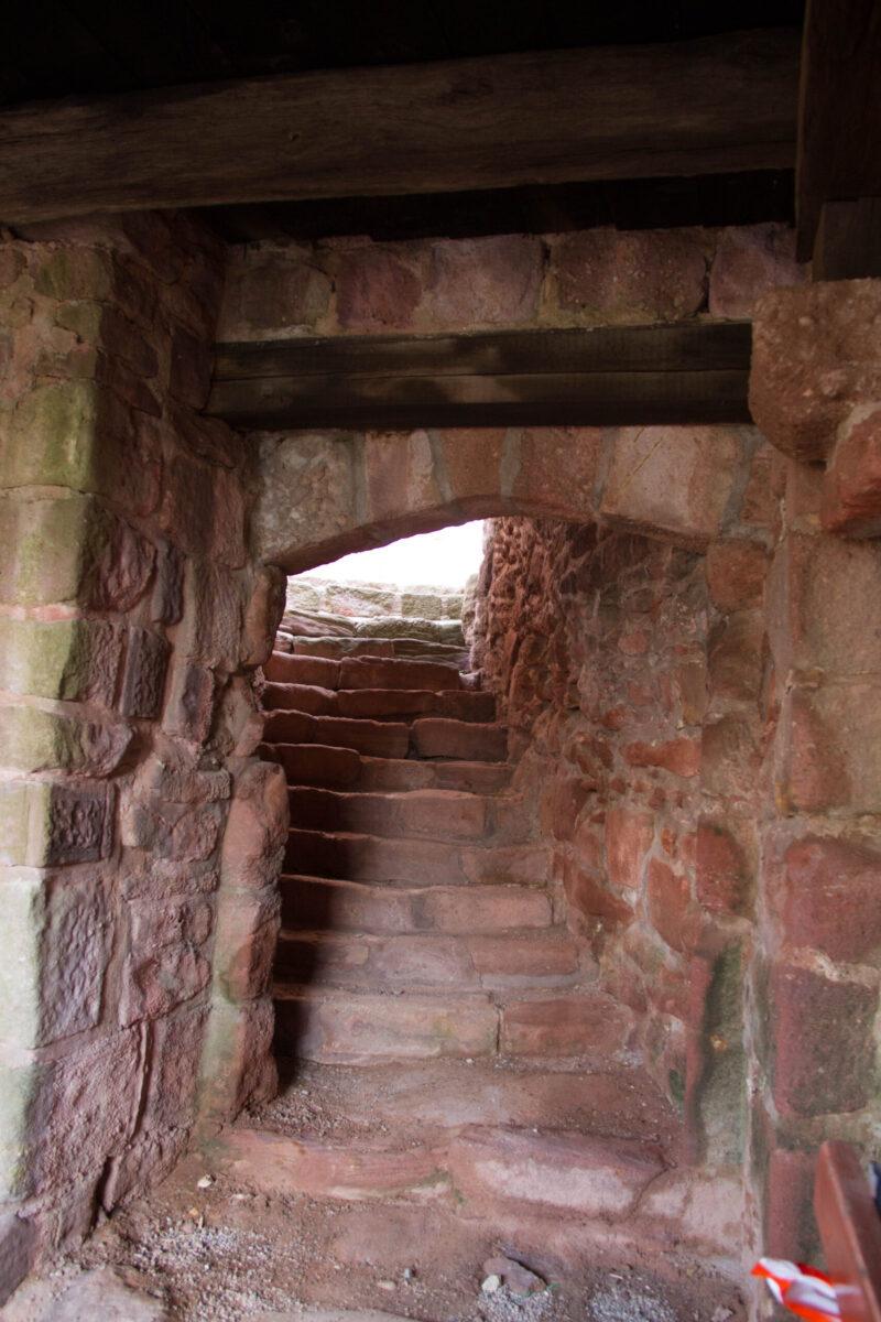 Gewölbetreppe