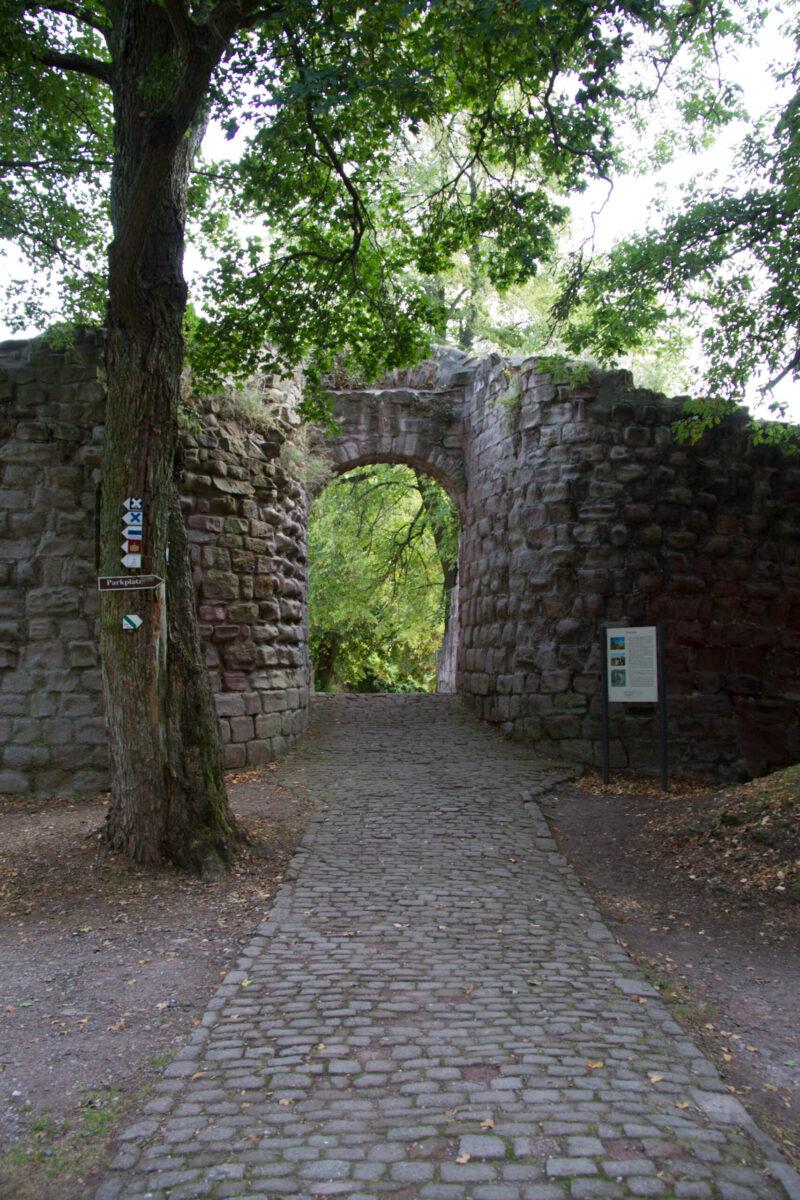 Zangentor der Unterburg
